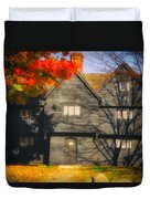 The Mysterious Witch House Of Salem Duvet Cover