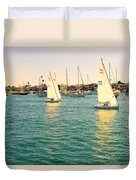 The Mystery Of Sailing Duvet Cover