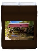 The Narrows Covered Bridge 1 Duvet Cover