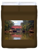 The Narrows Covered Bridge 4 Duvet Cover