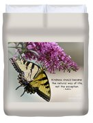 The Natural Way  Duvet Cover