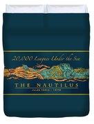 The Nautilus Duvet Cover
