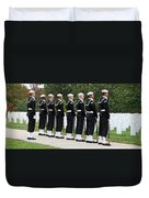 The Navy Ceremonial Guard Duvet Cover