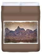The Needles - Impressions Duvet Cover