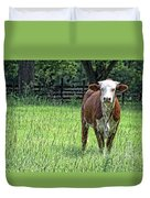 The Neighbor Duvet Cover by Jan Amiss Photography