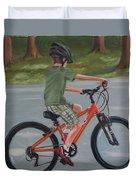 The New Bike Duvet Cover