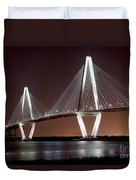 The New Cooper River Bridge Duvet Cover