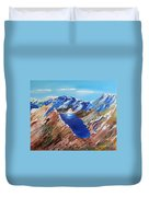 The New Zealand Alps Duvet Cover
