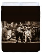 The Night Watch By Rembrandt Duvet Cover
