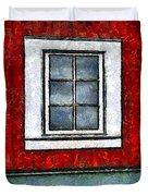 The Night Window Duvet Cover