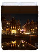 The Nine Streets Amsterdam Duvet Cover