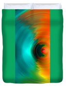 The No.2 Colored Hurricane Duvet Cover