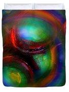The No.7 Colored Hurricane Duvet Cover