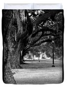 The Oaks Of Audubon Park Duvet Cover