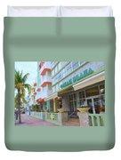 The Ocean Plaza Hotel Duvet Cover