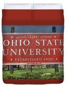 The Ohio State University Duvet Cover