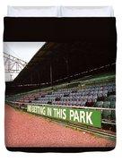 The Old Ballpark 3 Duvet Cover