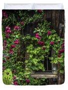 The Old Barn Window Duvet Cover