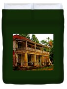 The Old Boarding House Duvet Cover by Marty Koch