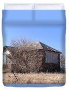 The Old Brick School Duvet Cover