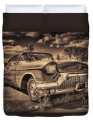 The Old Cadillac  Duvet Cover