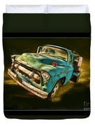 The Old Chevy Max Duvet Cover