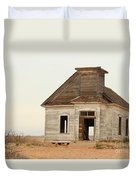 The Old Church In Town Duvet Cover