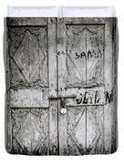 The Old Door Duvet Cover
