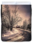 The Old Farm Down The Road Duvet Cover