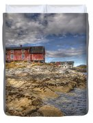 The Old Fisherman's Hut Duvet Cover by Heiko Koehrer-Wagner