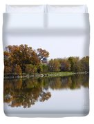The Old Fishing Hole  Duvet Cover