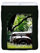 The Old Ford Truck Duvet Cover