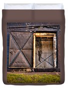 The Old Fort Gate-color Duvet Cover