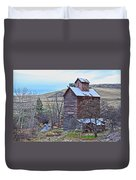 The Old Grain Storage Duvet Cover by Steve McKinzie
