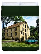 The Old Grist Mill  Paoli Pa. Duvet Cover