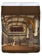 The Old Guard Chamber, The Round Tower Duvet Cover