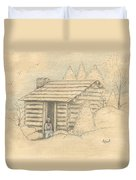 The Old Homeplace Duvet Cover