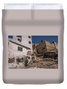 The Old Houses Of Ronda. Andalusia. Spain Duvet Cover