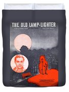 The Old Lamp Lighter Duvet Cover