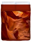 The Old Man Of The Canyons Duvet Cover