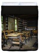 The Old Mikado Bailey School House Duvet Cover