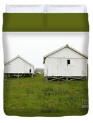 The Old Pierce Point Ranch At Foggy Point Reyes California 5d28140 Duvet Cover