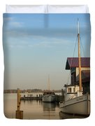 The Old Point - St Michaels  Duvet Cover