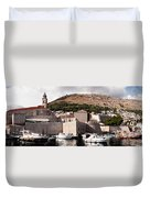 The Old Port Under The Ramparts Duvet Cover