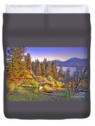 The Old Resting Place Duvet Cover