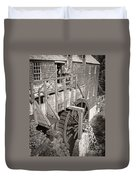 The Old Saw Mill Duvet Cover by Edward Fielding