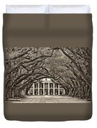 The Old South Sepia Duvet Cover
