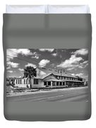 The Old Victory Groves Packing House Duvet Cover