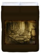 The Old West Duvet Cover