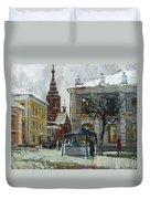 The Old Yaroslavl Duvet Cover